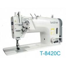 Brother T-8420C-003 1/4 Промышленная двухигольная швейная машина челночного стежка