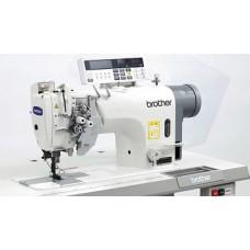 Brother T-8422C-403 1/4 Промышленная двухигольная швейная машина челночного стежка