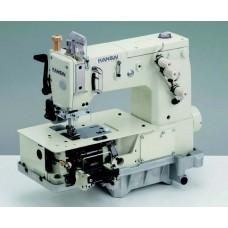 Kansai Special DVK-1702PMD 1/4 Промышленная плоскошовная швейная машина с плоской платформой