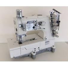 Kansai Special NW-8803GMG 1/4 Промышленная плоскошовная машина с плоской платформой.
