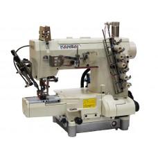 Kansai Special REX-9803MG/UTC-A 1/4 Промышленная плоскошовная швейная машина с цилиндрической платформой