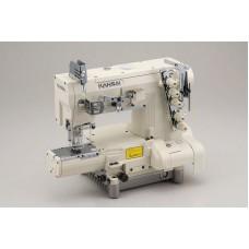 Kansai Special REX-9803MG 7/32 Промышленная плоскошовная швейная машина с цилиндрической платформой