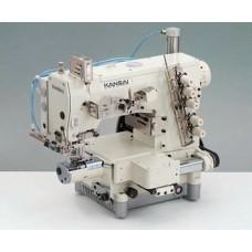 Kansai Special NM-1103A/UTC-A 1/4 Промышленная плоскошовная швейная машина с цилиндрической платформой