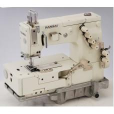 Kansai Special HDX-1102 1/4 Промышленная швейная машина двухниточного цепного стежка