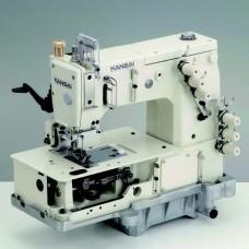Kansai Special DLR-1503PTF 1/4 Промышленная швейная машина двухниточного цепного стежка