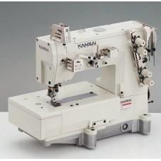 Kansai Special LX-5802TMF 1/64 Промышленная швейная машина двухниточного цепного стежка