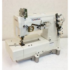 Kansai Special LX-5802M 1/4 Промышленная швейная машина двухниточного цепного стежка