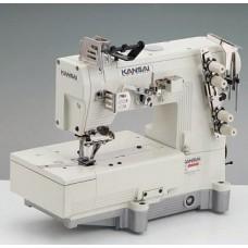 Kansai Special LX-5802L 1/4 Промышленная швейная машина двухниточного цепного стежка