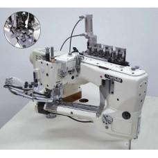 Kansai Special NFS-6604GMH-DD-60/CS-2 Промышленная швейная машина, плоскошовная со сводным рукавом FLATLOCK