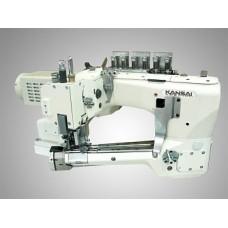 """Kansai Special NFS-6604GLM-DD-60/CS-2 Промышленная швейная машина, плоскошовная со сводным рукавом ( """"FLATLOCK"""")"""