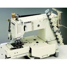 """Kansai Special FX-4404P 1"""" Промышленная многоигольная швейная машина"""