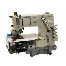 """Kansai Special DFB-1404PMD 1"""" Промышленная многоигольная швейная машина"""
