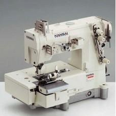 "Kansai Special BLX-2202CW 1/4"" Промышленная шлёвочная швейная машина"