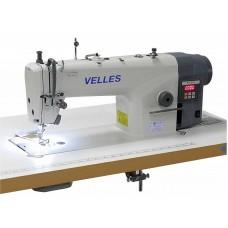 VLS 1010D Промышленная одноигольная швейная машина челночного стежка со встроенным в головку двигателем