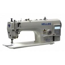 Velles VLS 1015DD Промышленная одноигольная швейная машина челночного стежка со встроенным в головку двигателем и подъемником лапки
