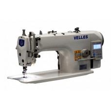 Velles VLS 1115DD Промышленная одноигольная швейная машина челночного стежка со встроенным в головку двигателем